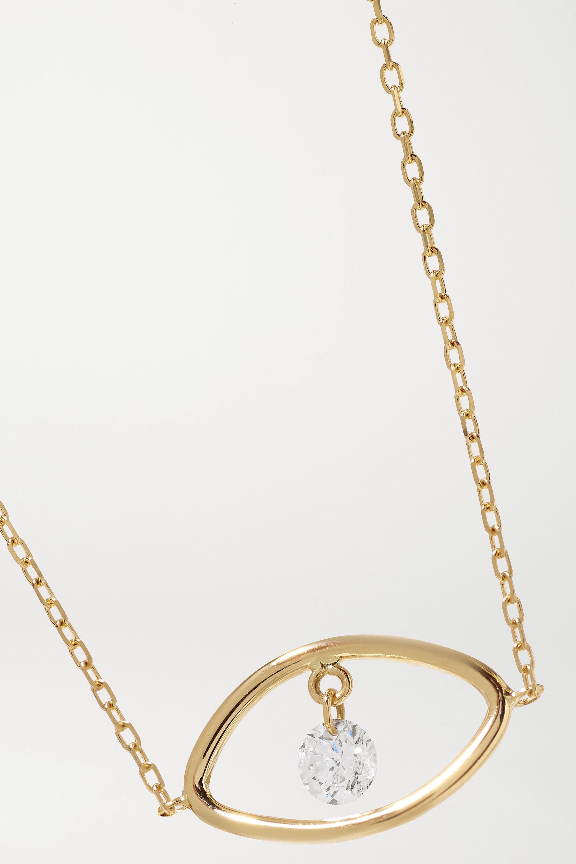 Persée Eye Armband aus Gold mit Diamant