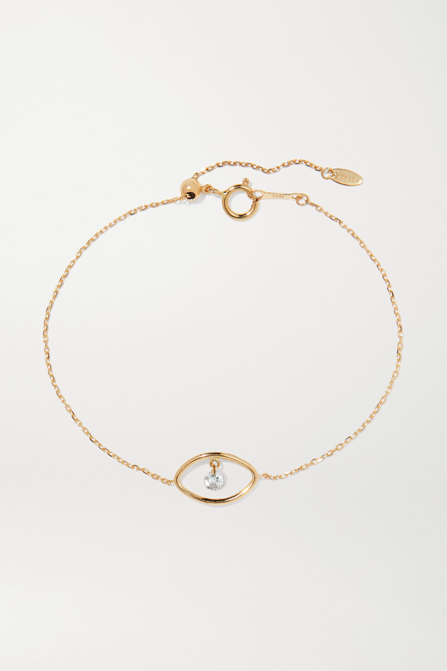 Persée Eye gold diamond bracelet