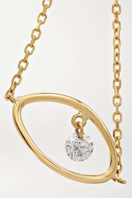 Persée Eye gold diamond ring
