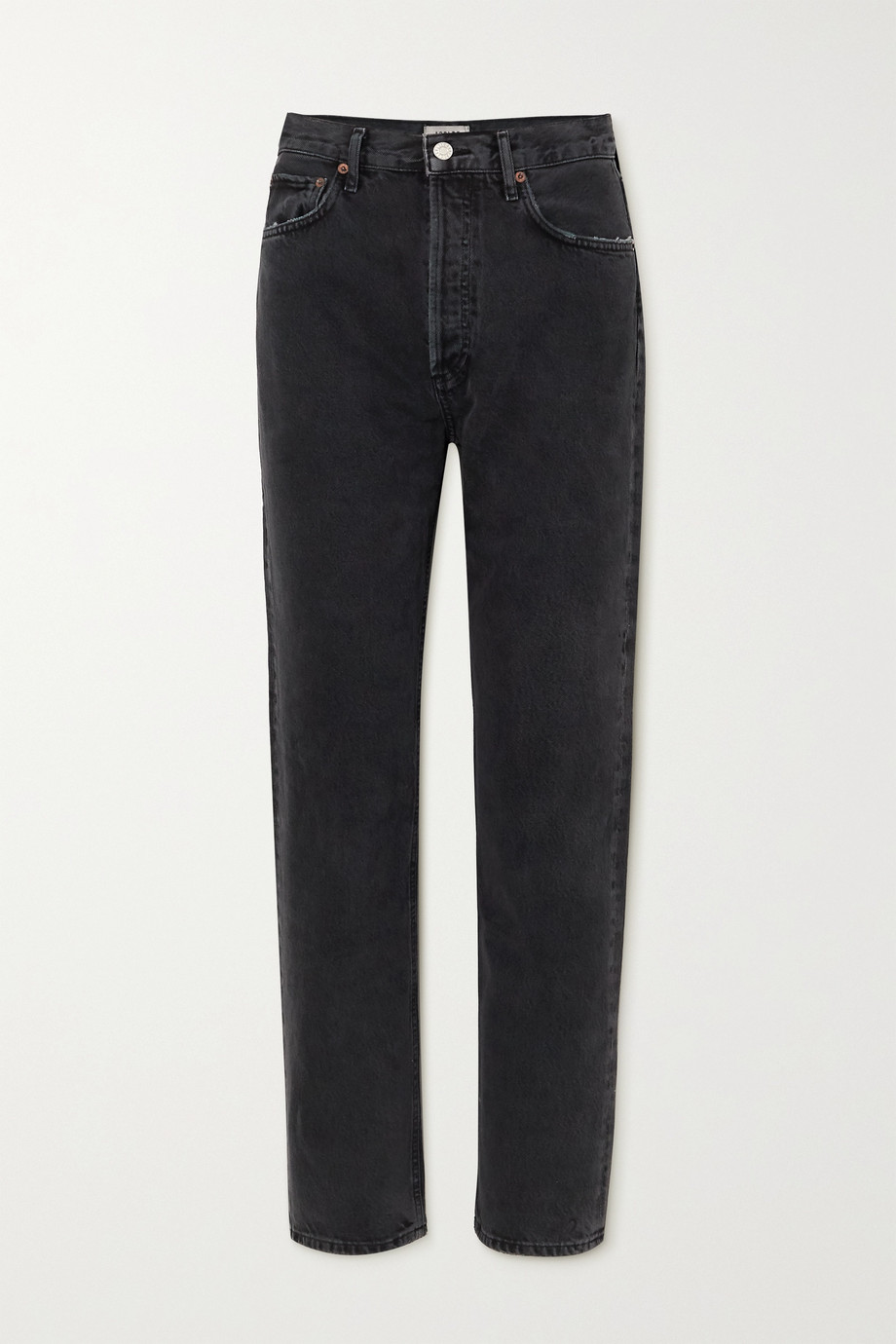 AGOLDE + NET SUSTAIN '90s organic high-rise straight-leg jeans