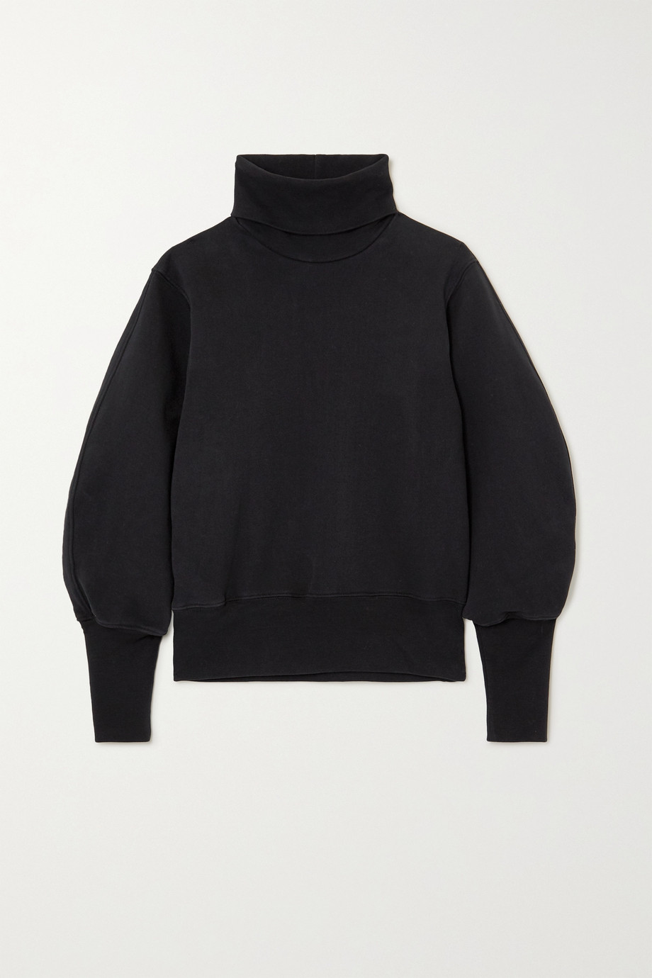 AGOLDE Cotton-jersey turtleneck sweatshirt