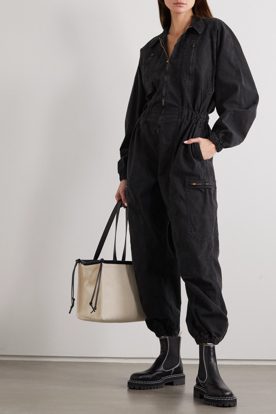 AGOLDE Marin denim jumpsuit
