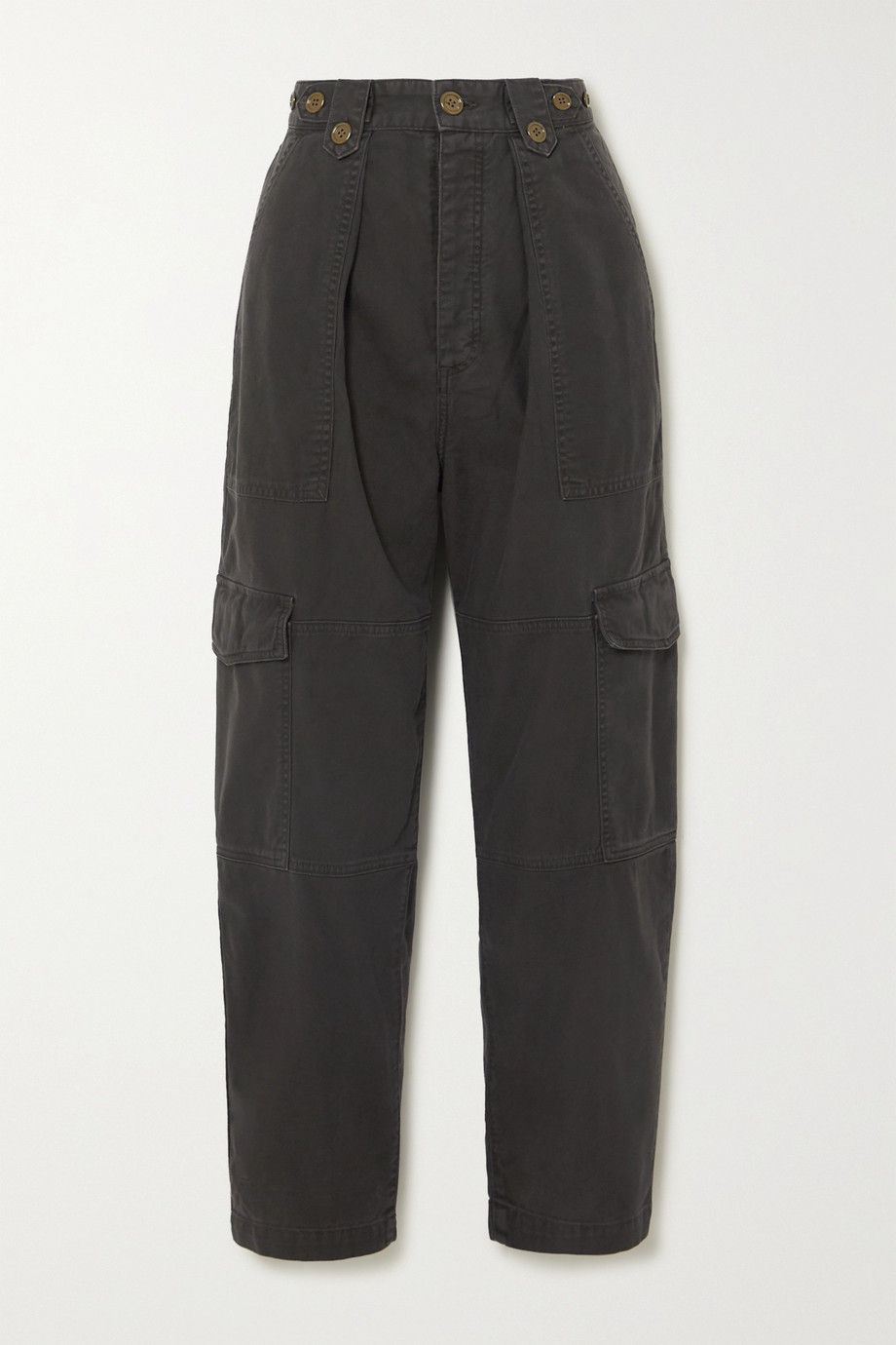 AGOLDE Mila cotton-twill tapered pants
