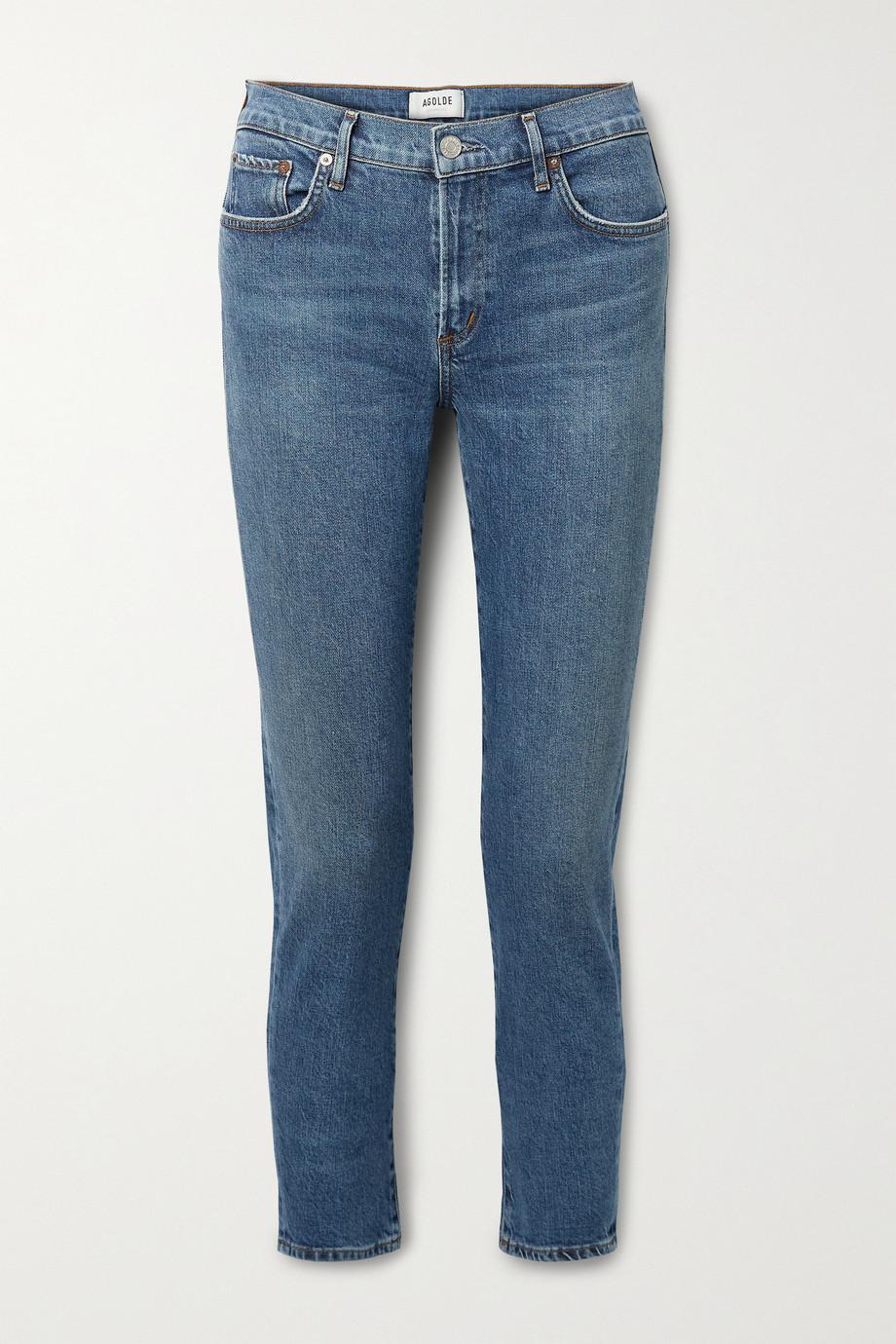AGOLDE Toni mid-rise slim-leg jeans