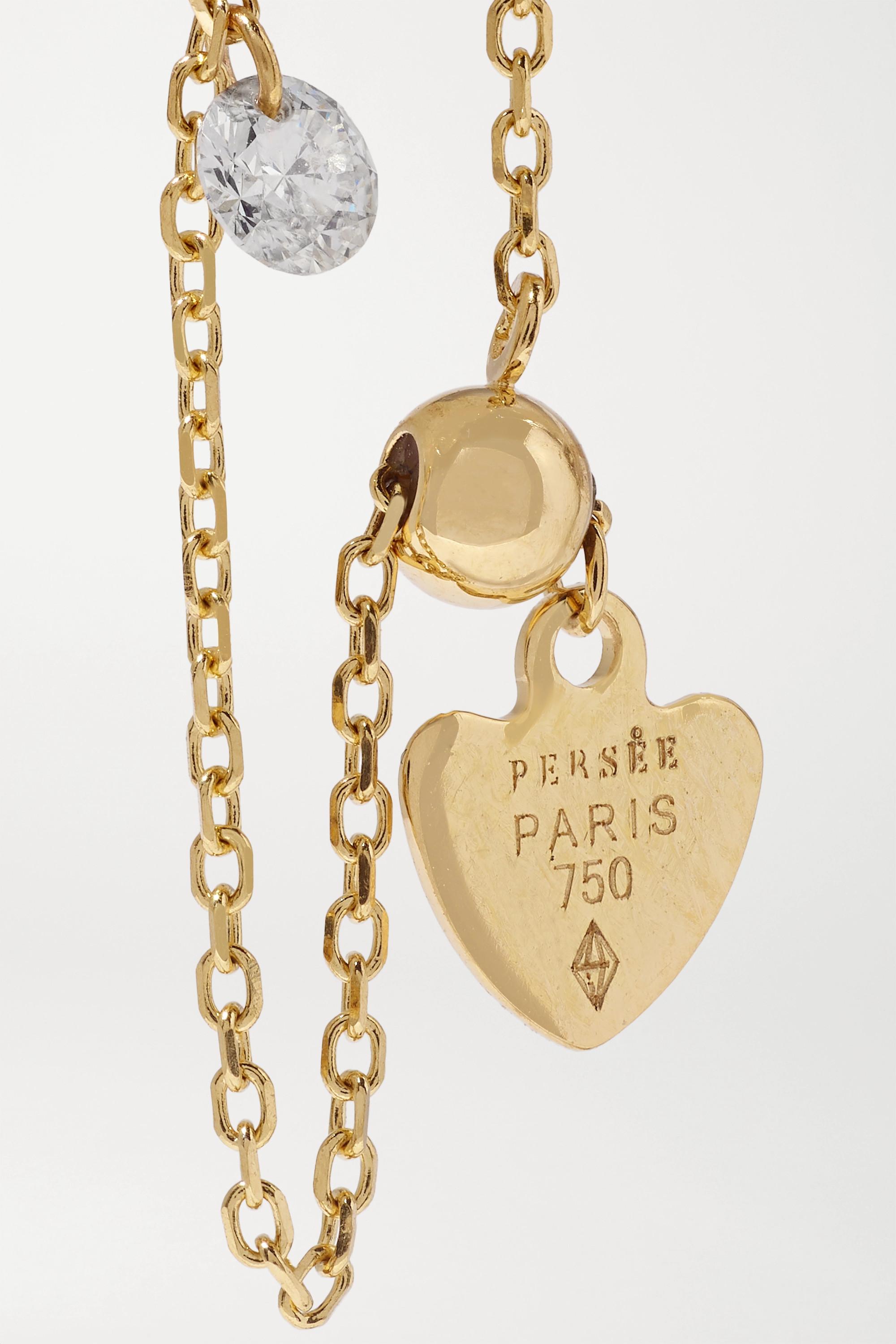 Persée Danaé gold diamond ring