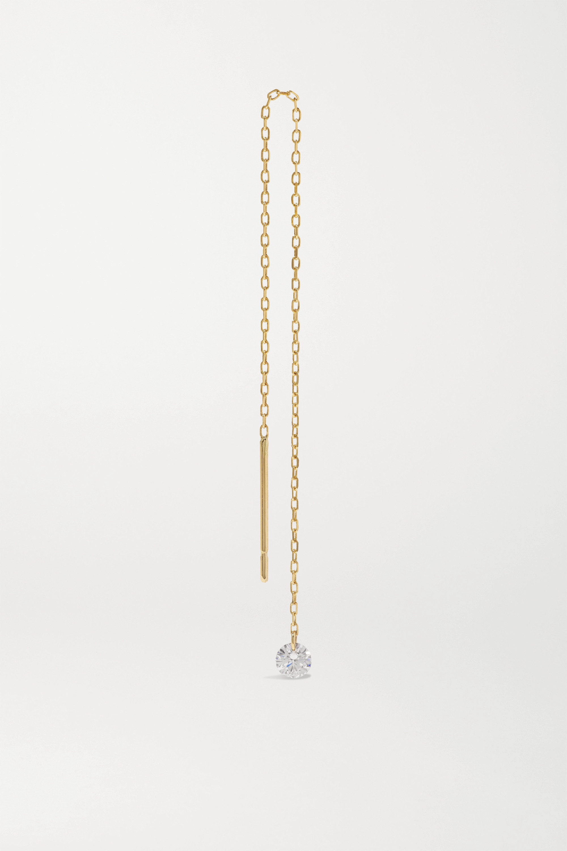 Persée Danae gold diamond earring