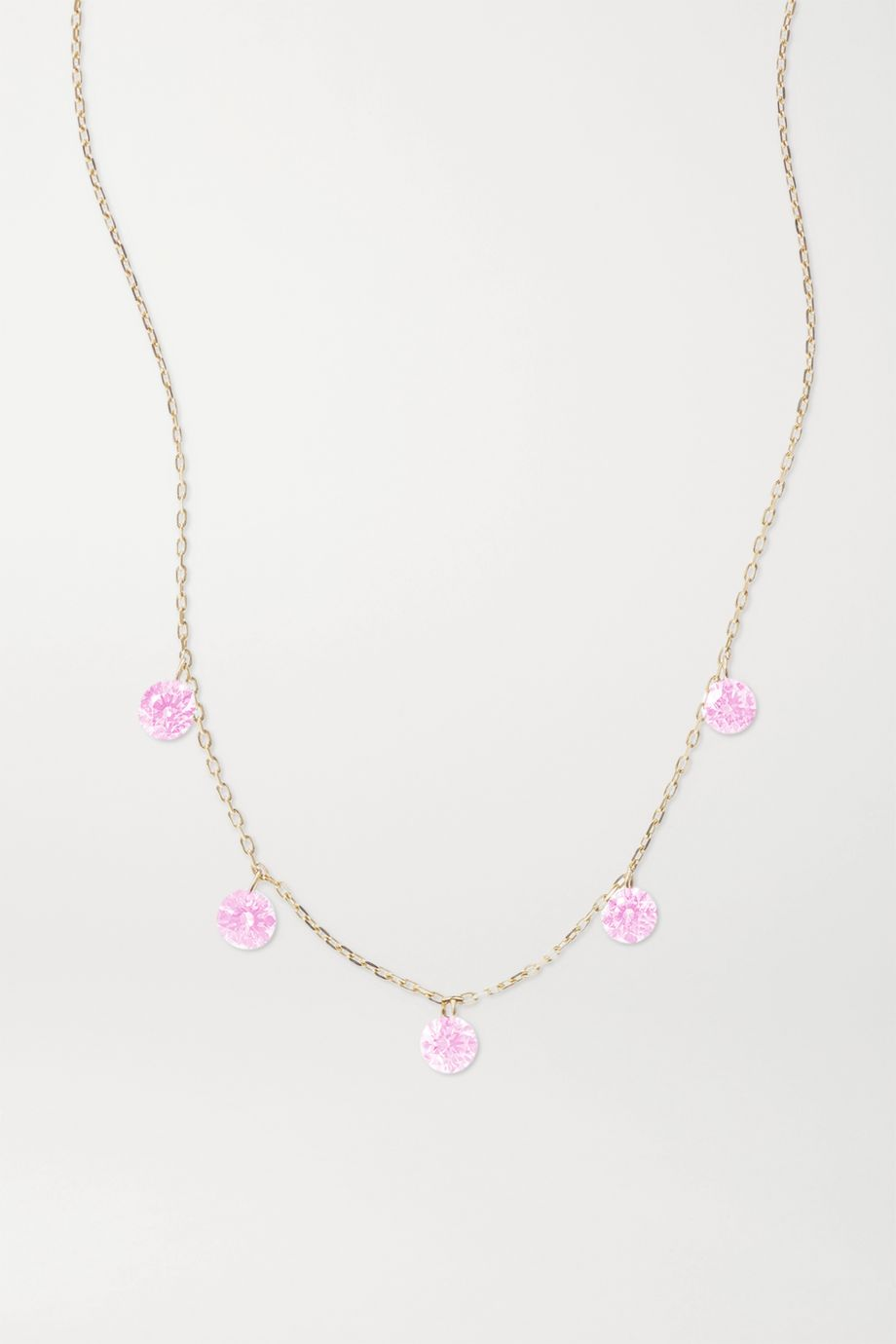 Persée La Vie en Rose 黄金蓝宝石项链
