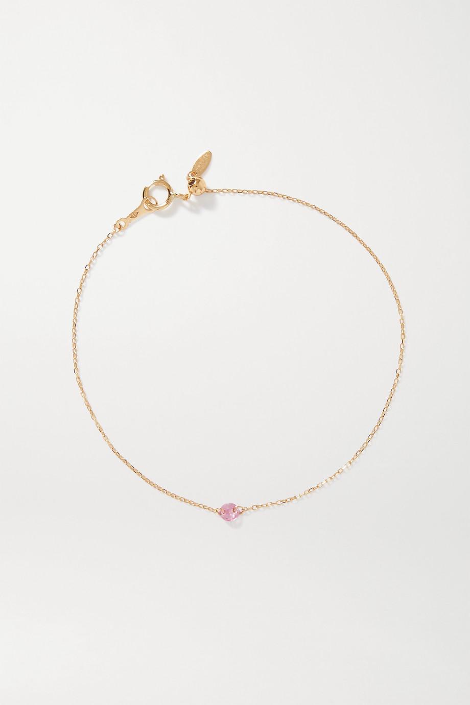 Persée La Vie En Rose gold sapphire bracelet