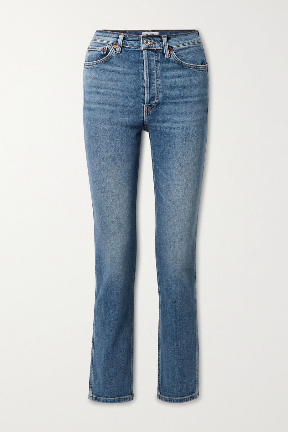 RE/DONE Jean slim taille haute 80s - NET SUSTAIN