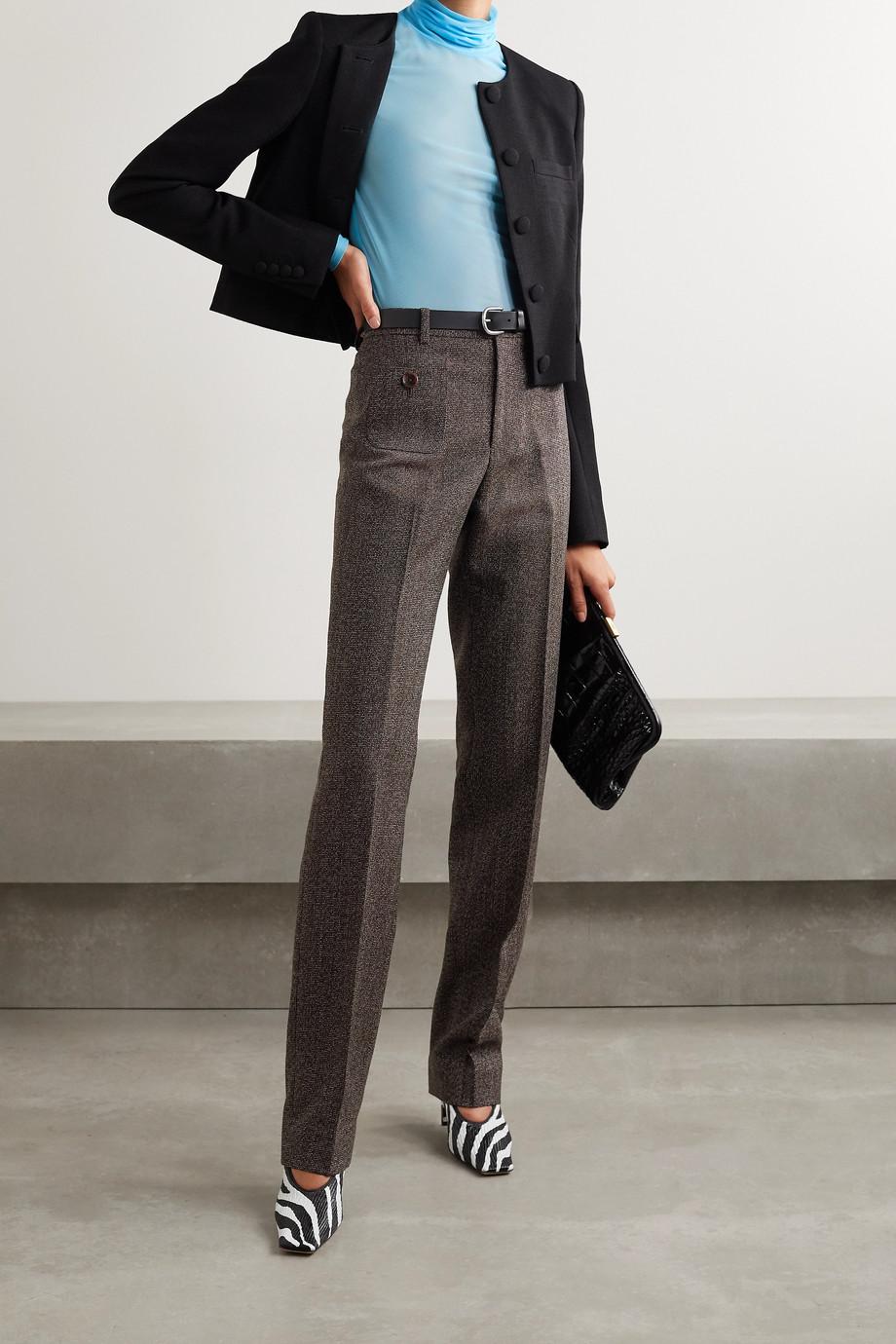Commission Wool-tweed straight-leg pants