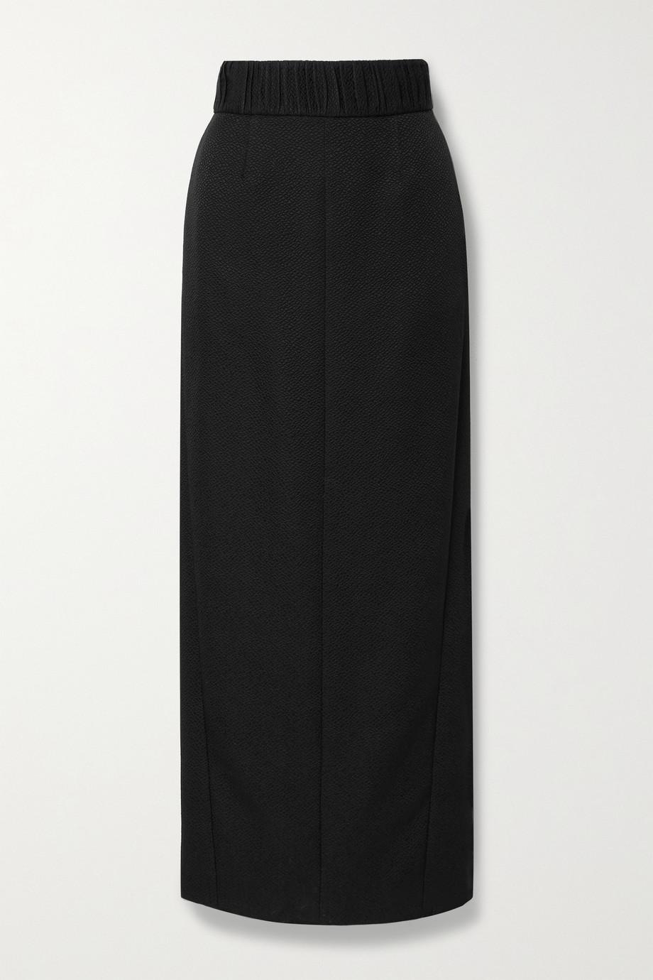TOVE Celeste cotton and silk-blend jacquard maxi skirt