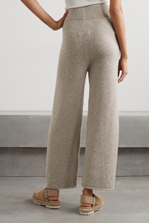 Lauren Manoogian + NET SUSTAIN Miter Hose mit weitem Bein aus Alpakawolle