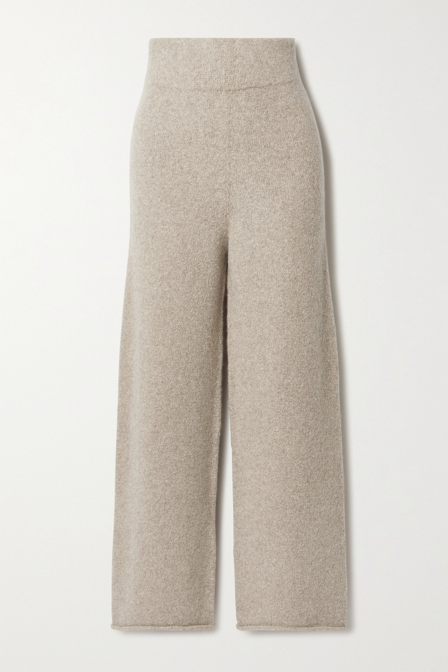 Lauren Manoogian + NET SUSTAIN Miter alpaca wide-leg pants