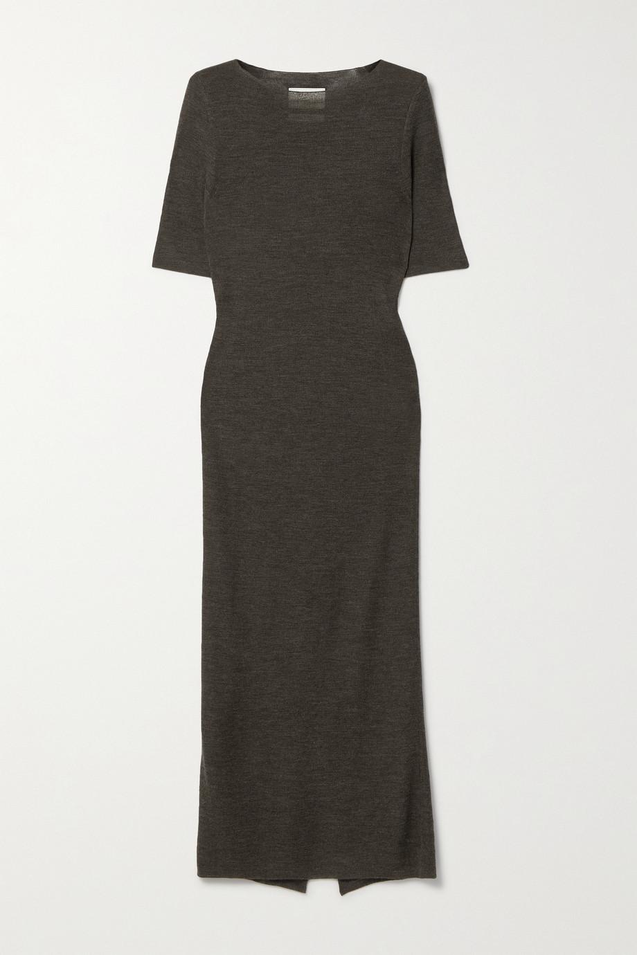 Lauren Manoogian + NET SUSTAIN alpaca, merino wool and mulberry silk-blend midi dress