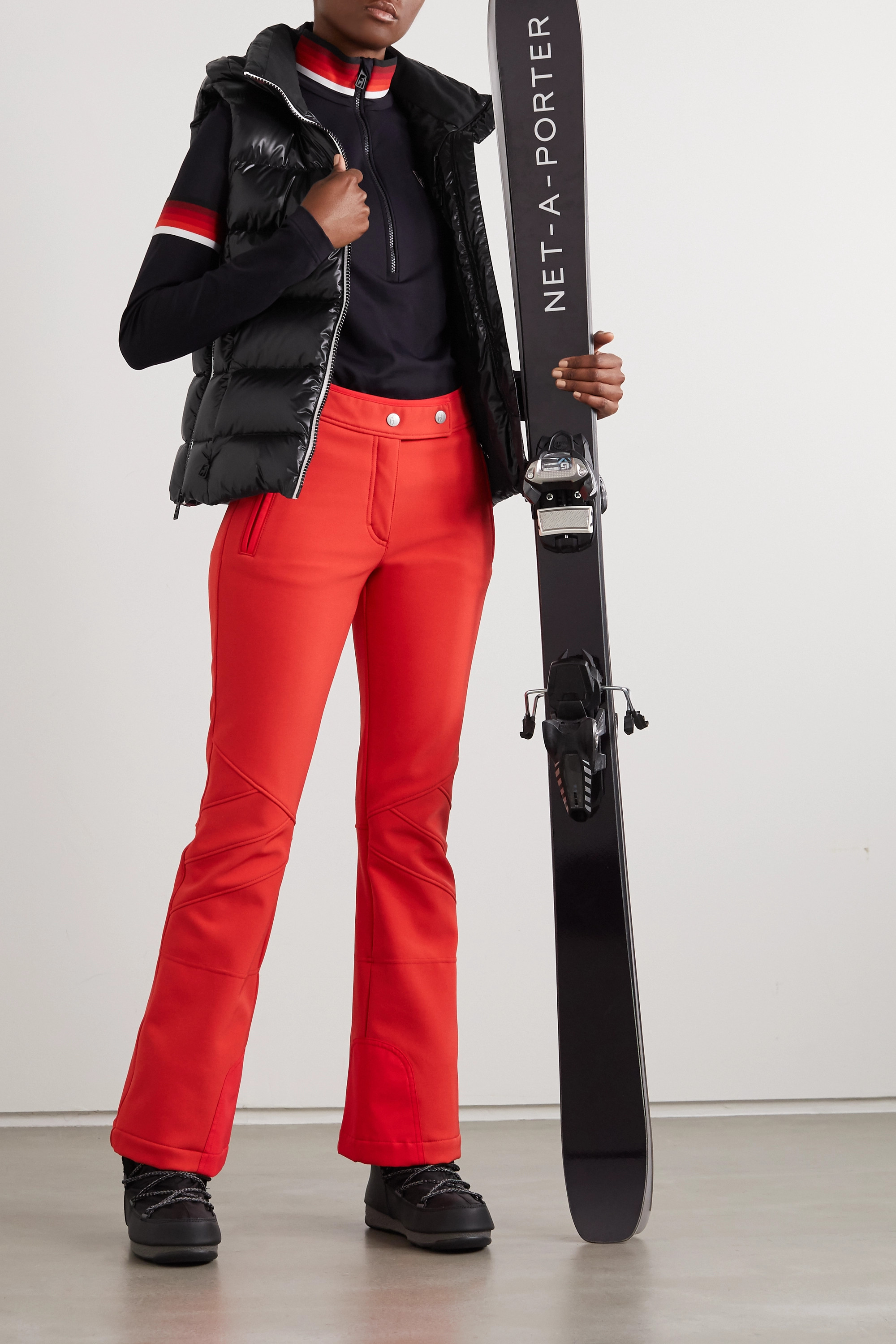 toni sailer Lou quilted glossed down ski vest