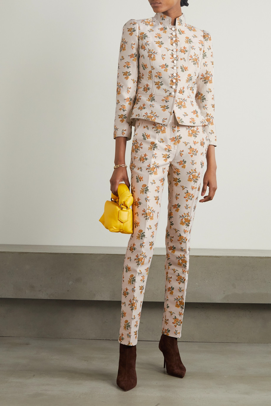 Tory Burch Floral-jacquard jacket