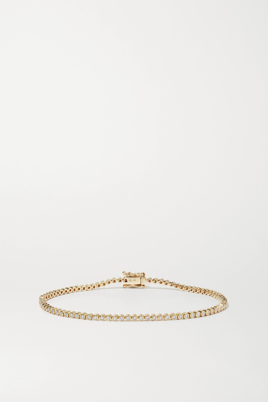 Sydney Evan Bracelet en or 14 carats et diamants