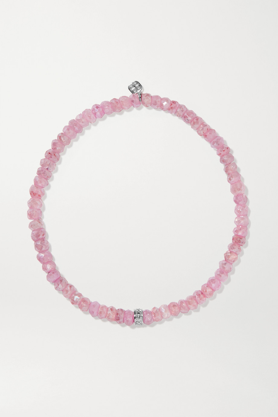 Sydney Evan Bracelet en or 14 carats, grapolites et diamants