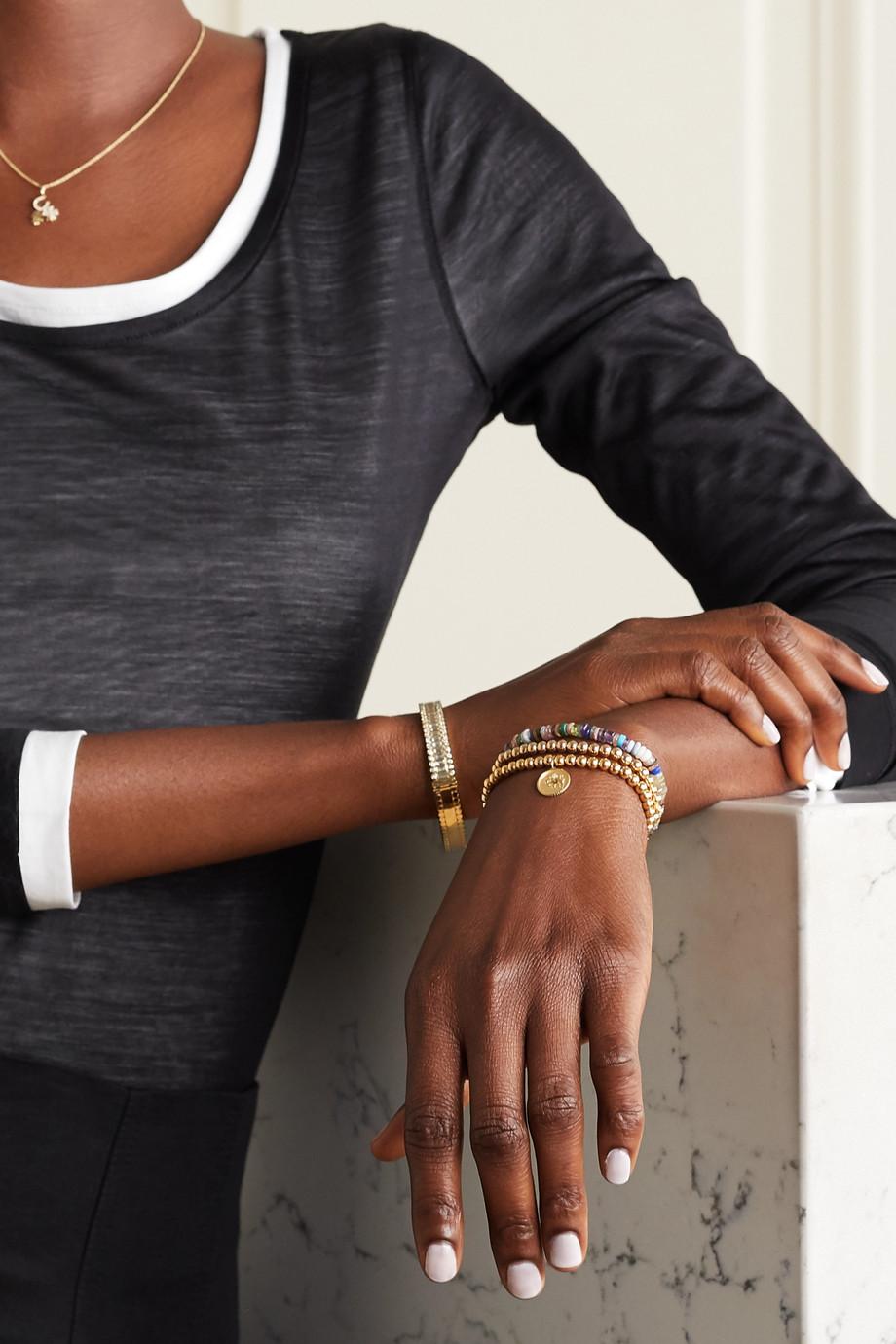 Sydney Evan Taurus 14-karat gold diamond bracelet