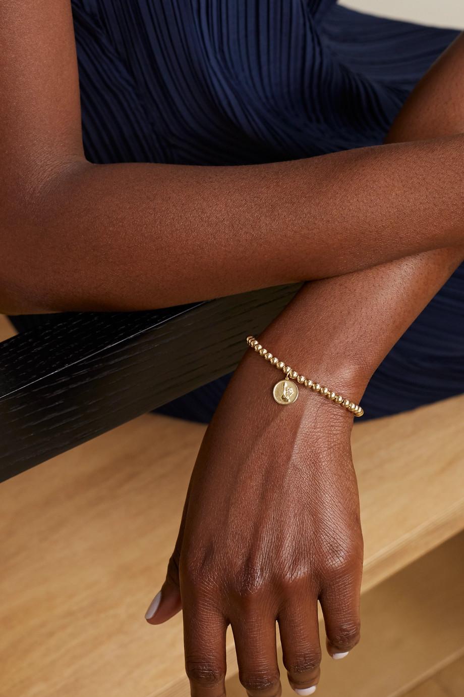 Sydney Evan Virgo 14-karat gold diamond bracelet
