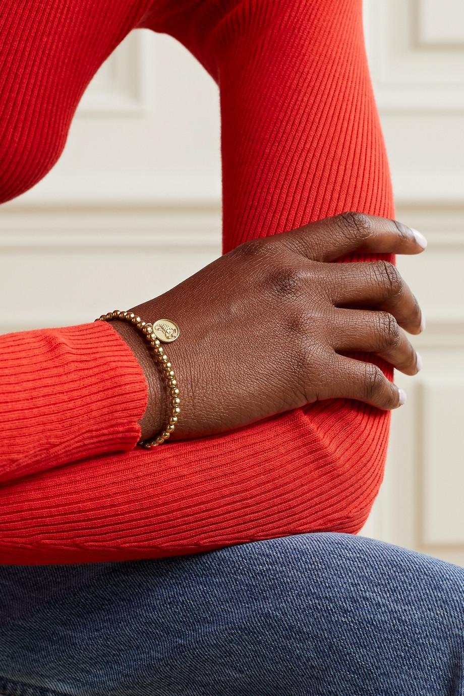 Sydney Evan Scorpio 14-karat gold diamond bracelet