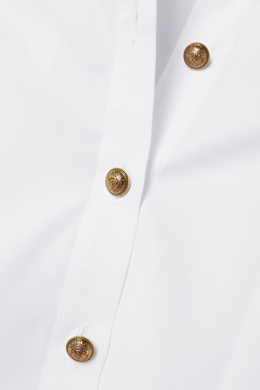 Balmain 纯棉府绸衬衫