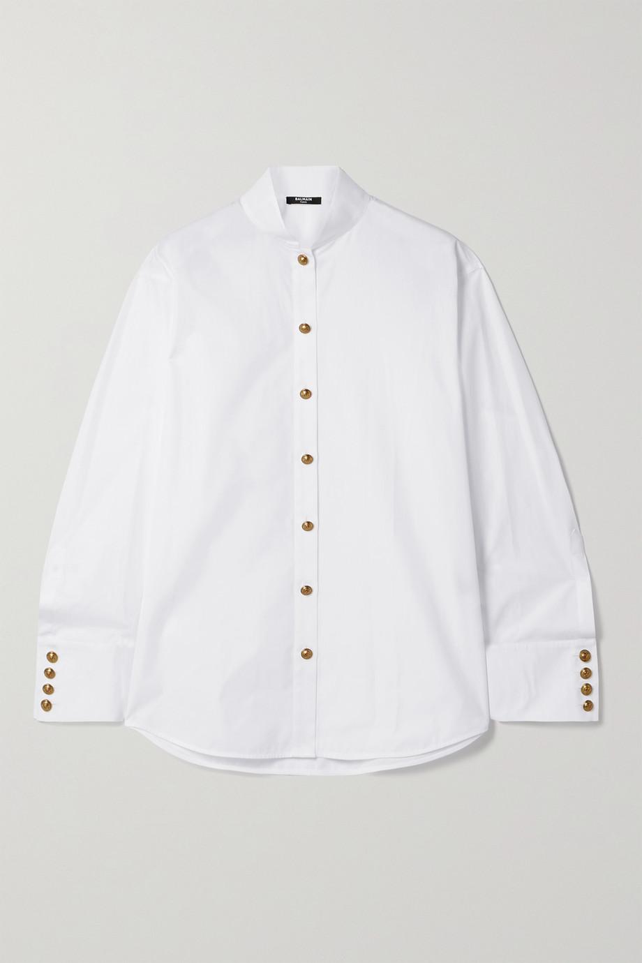 Balmain Cotton-poplin shirt