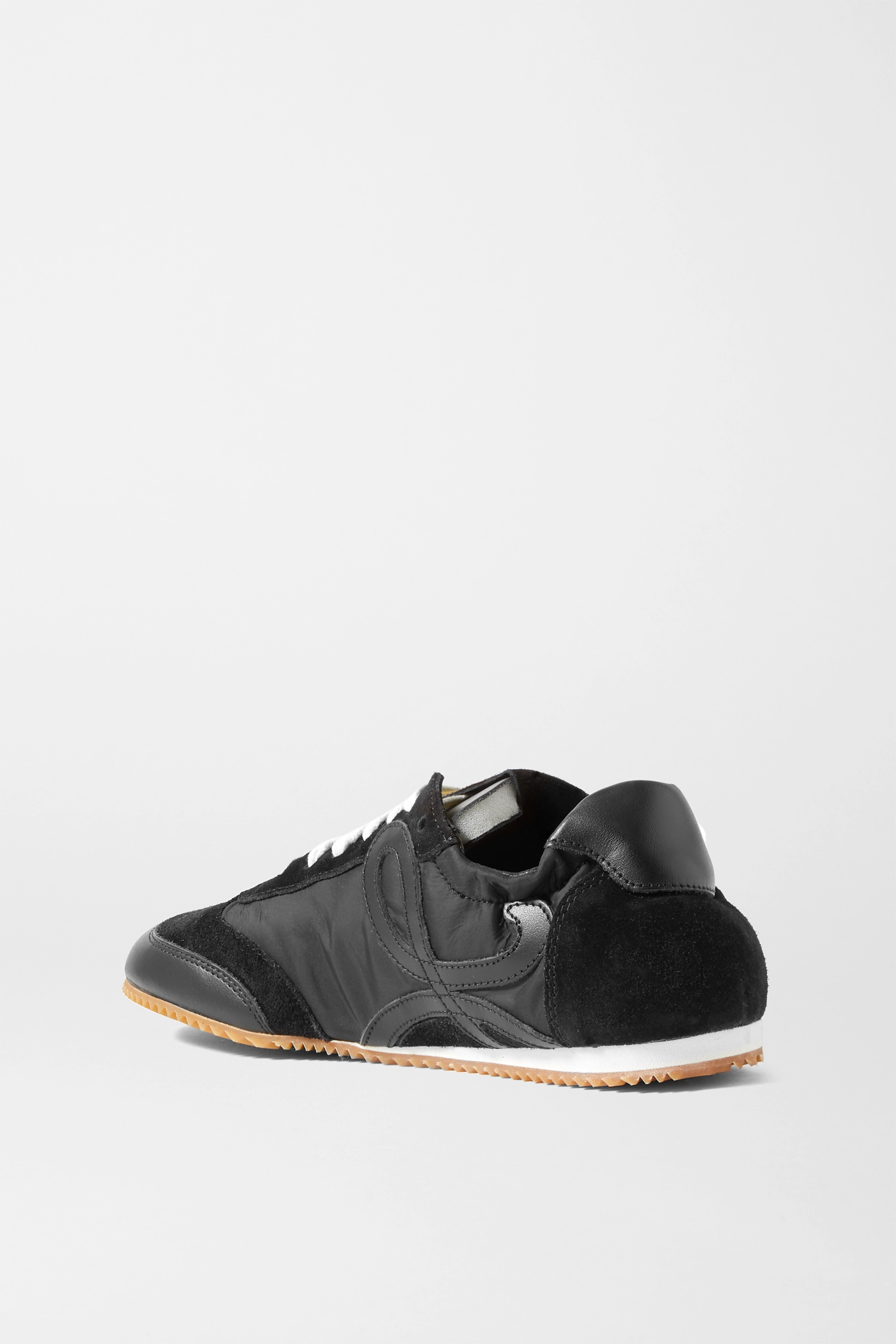Loewe Ballet Runner shell, suede and leather sneakers