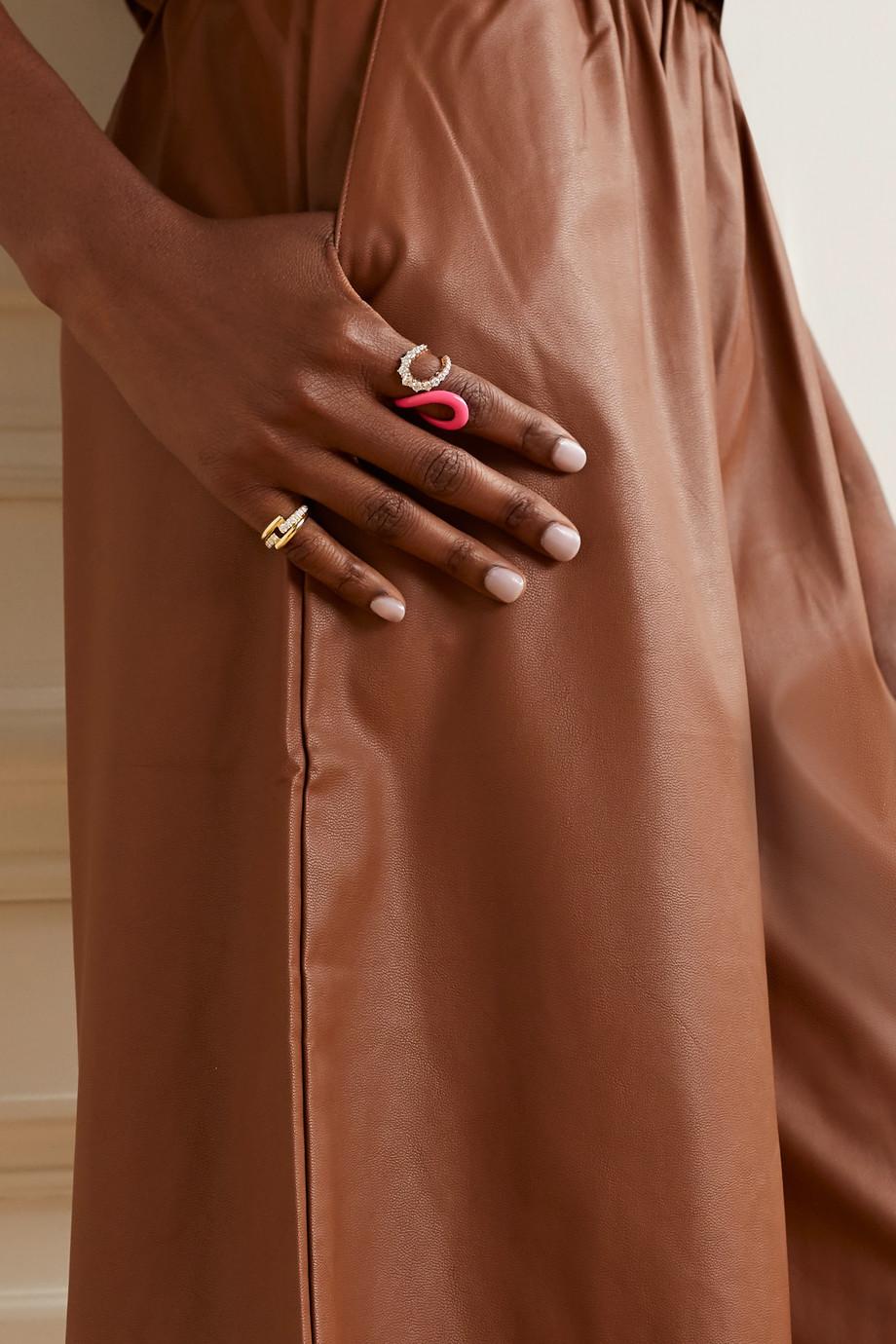 Melissa Kaye Lola Ring aus 18 Karat Gold mit Diamanten