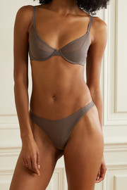 The Great Eros Canova stretch-tulle underwired soft-cup bra