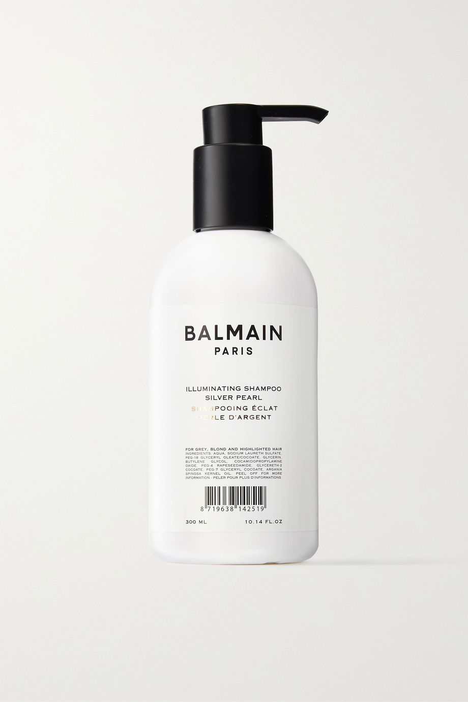 Balmain Paris Hair Couture Illuminating Shampoo - Silver Pearl, 300ml