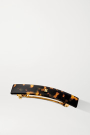 Balmain Paris Hair Couture Medium acetate hair clip - Tortoiseshell