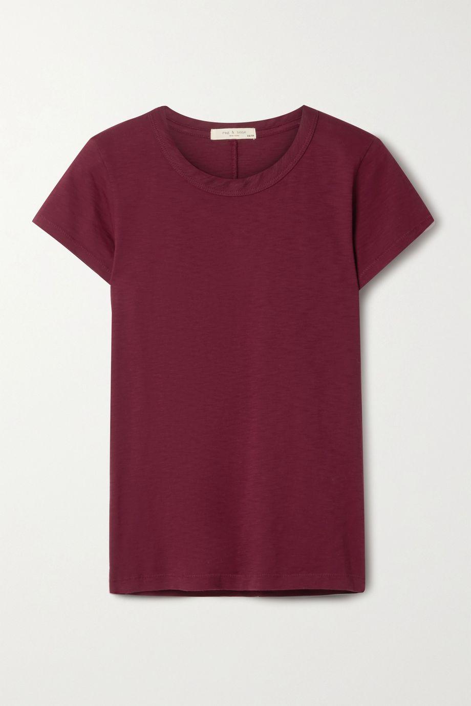 rag & bone The Tee organic Pima cotton-jersey T-shirt