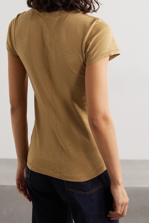 rag & bone The Tee T-Shirt aus Bio-Pima-Baumwoll-Jersey