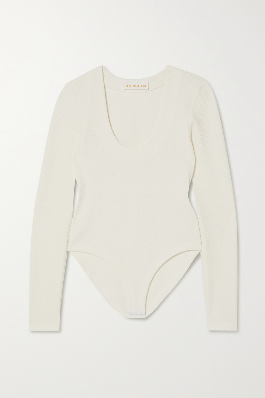 REMAIN Birger Christensen Allure stretch-cloqué bodysuit