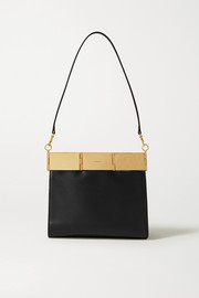 Oroton Cassia medium leather shoulder bag