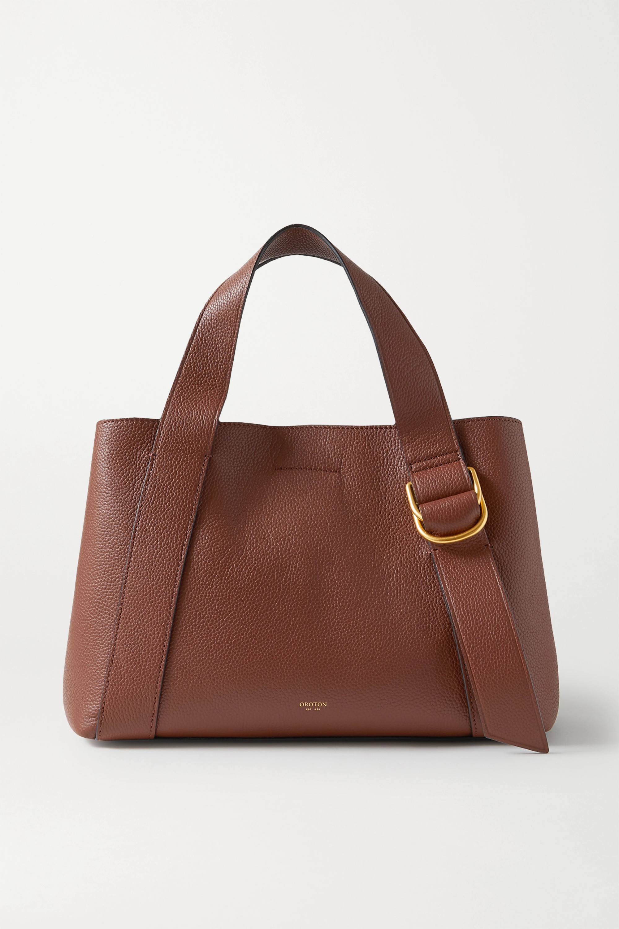 Oroton Daria medium textured-leather tote