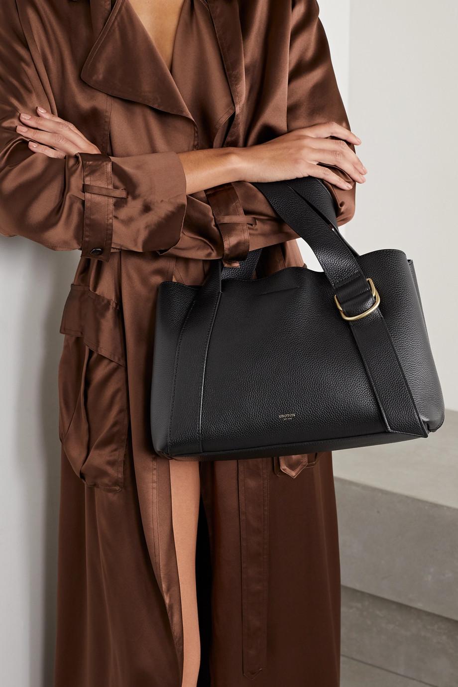 Oroton Daria medium textured-leather tote