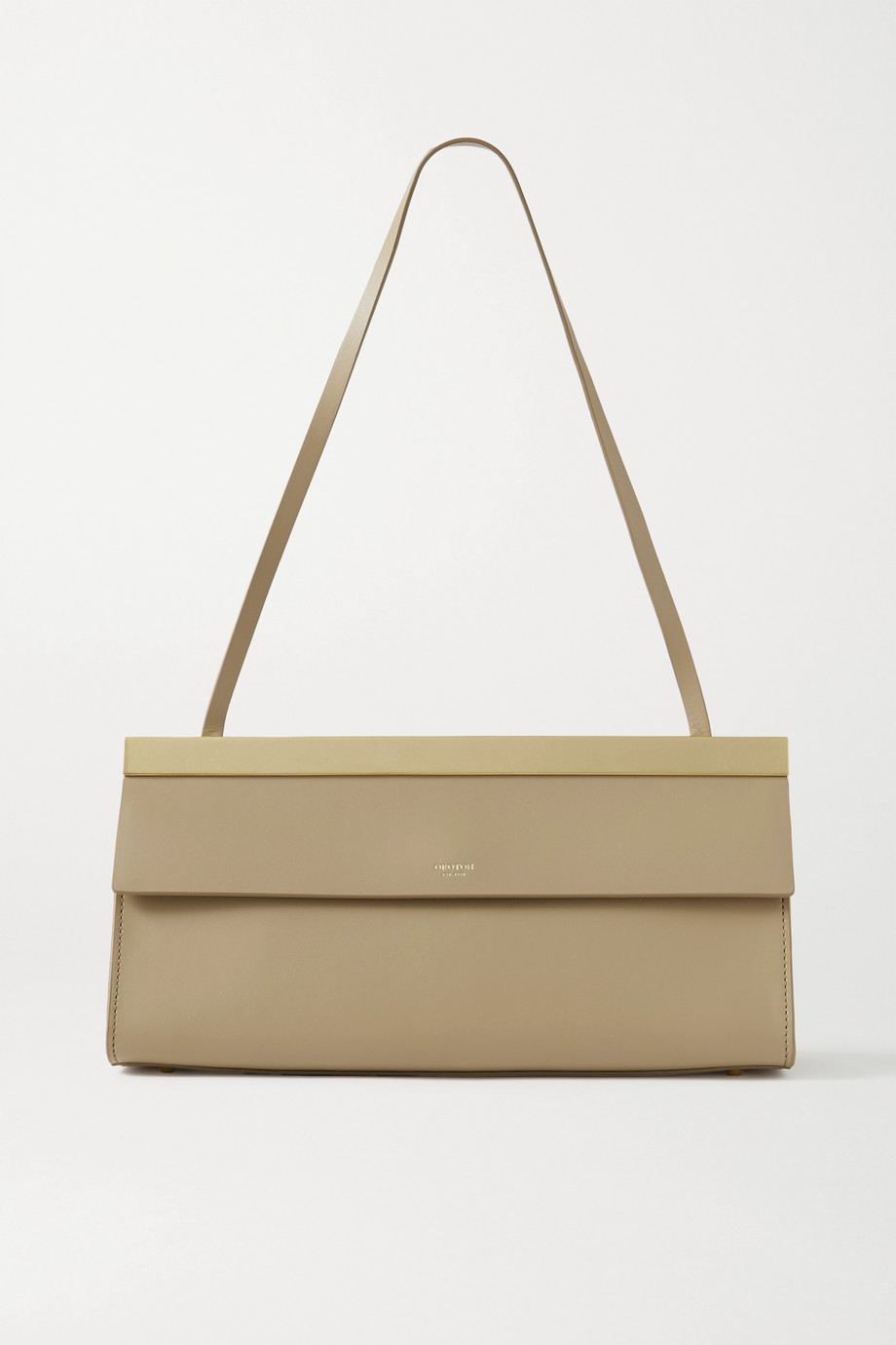 Oroton Jerome Baguette leather shoulder bag