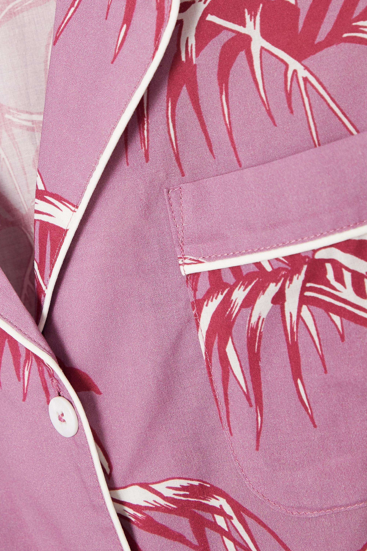 Desmond & Dempsey Bocas printed organic cotton pajama set