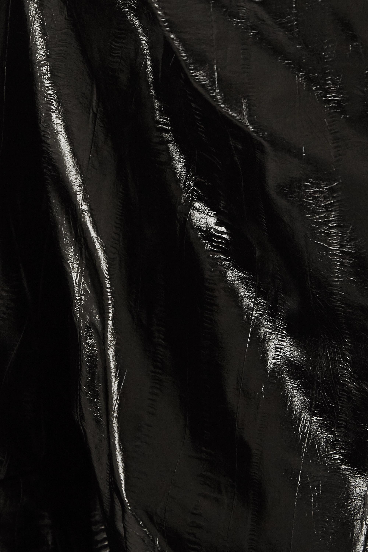 ROTATE Birger Christensen Irina faux patent-leather dress