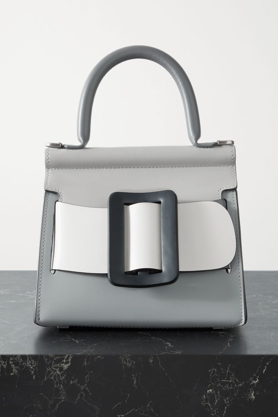 BOYY Karl 19 medium buckled color-block leather tote
