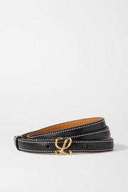 Loewe L Buckle leather belt