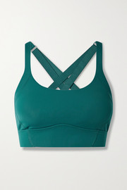 All Access Shuffle Longline stretch sports bra