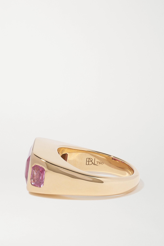 Brent Neale Ring aus 18 Karat Gold mit Turmalin und Saphiren