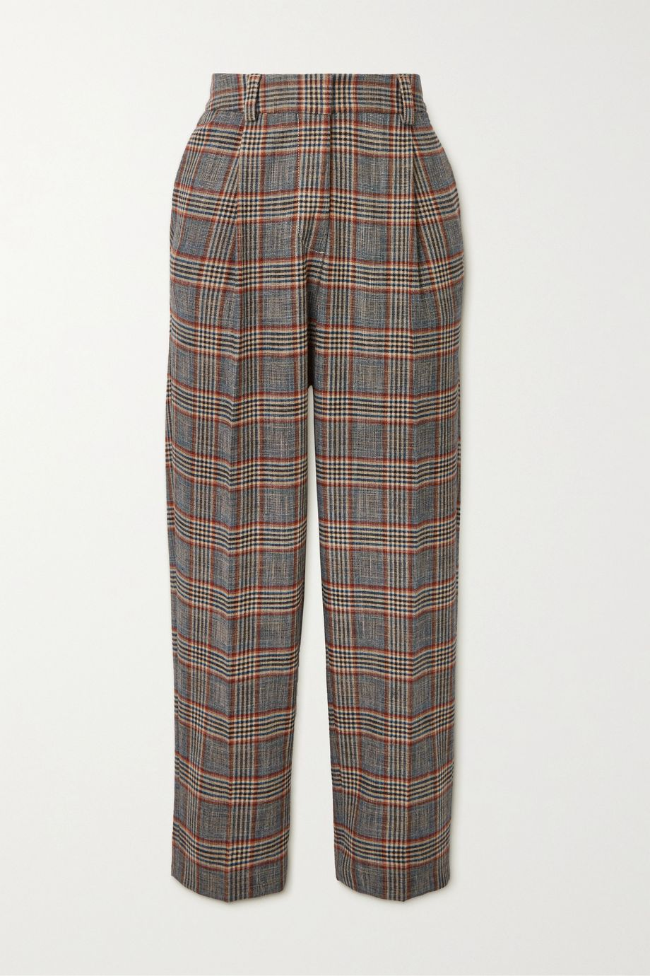 See By Chloé Checked tweed tapered pants