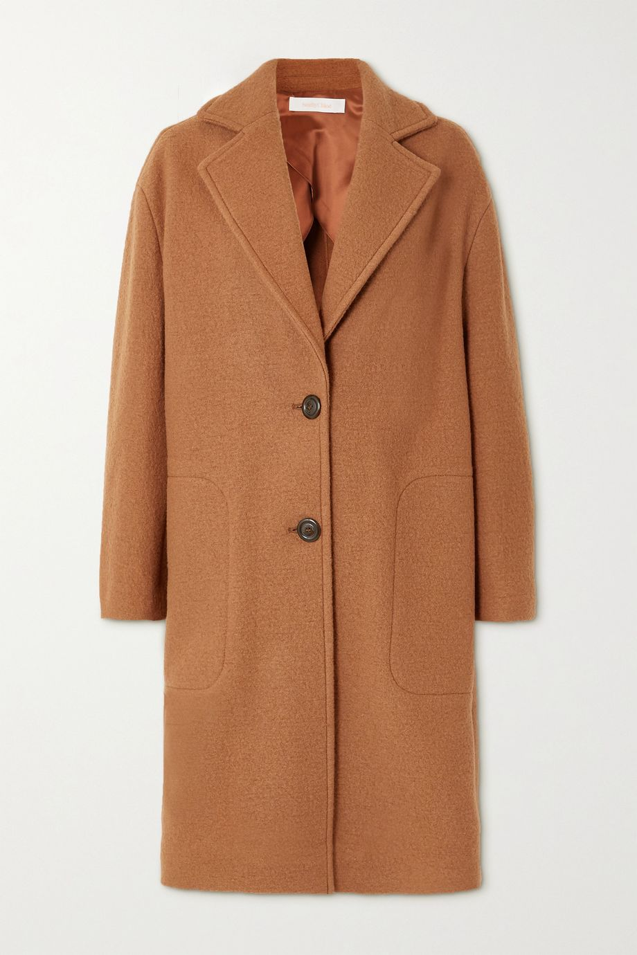 See By Chloé Wool-felt coat