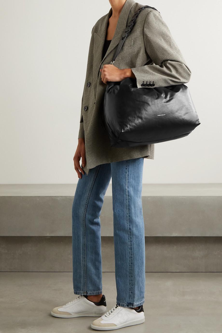 Isabel Marant Baggara large leather shoulder bag