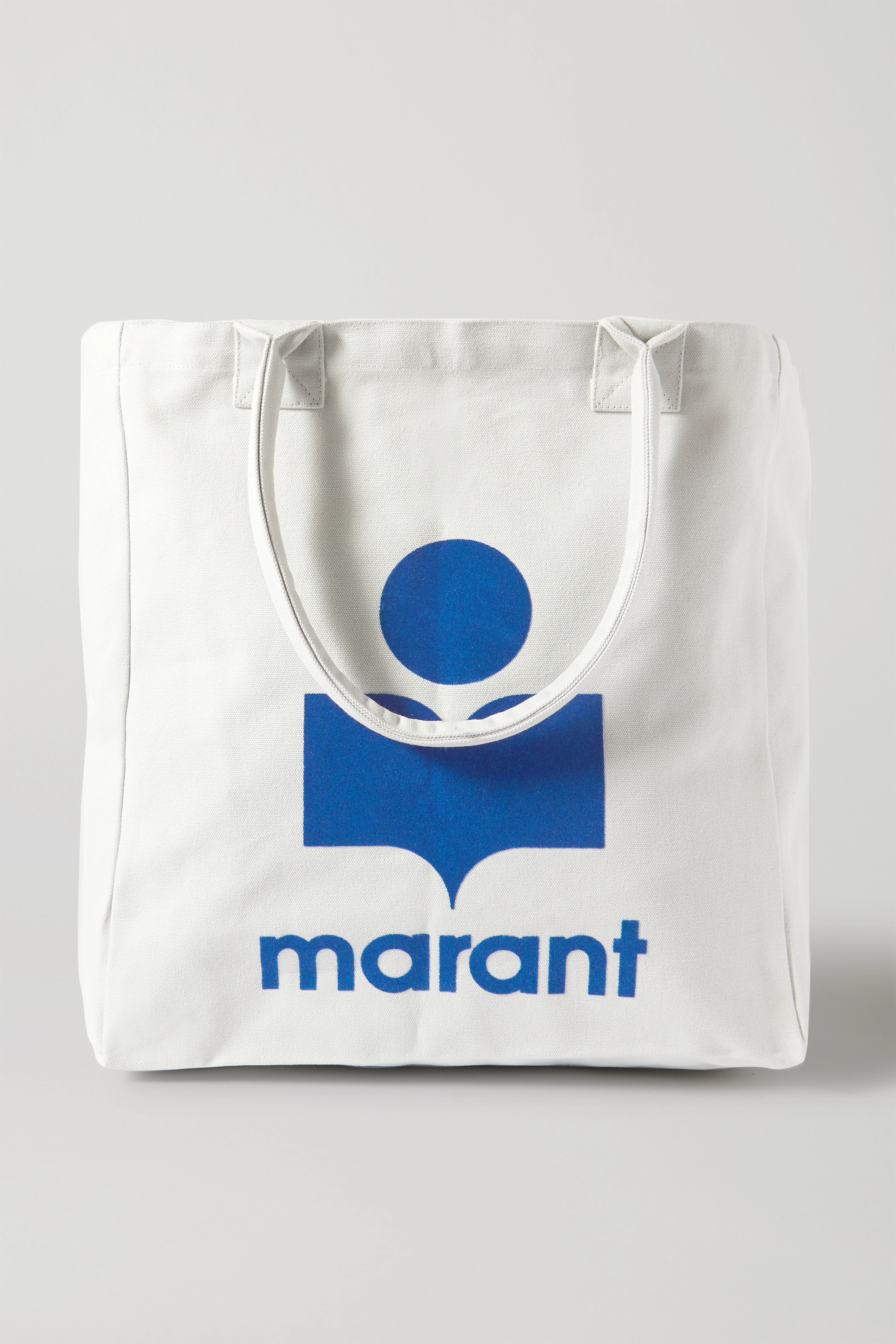 Isabel Marant Yenky printed cotton-canvas tote