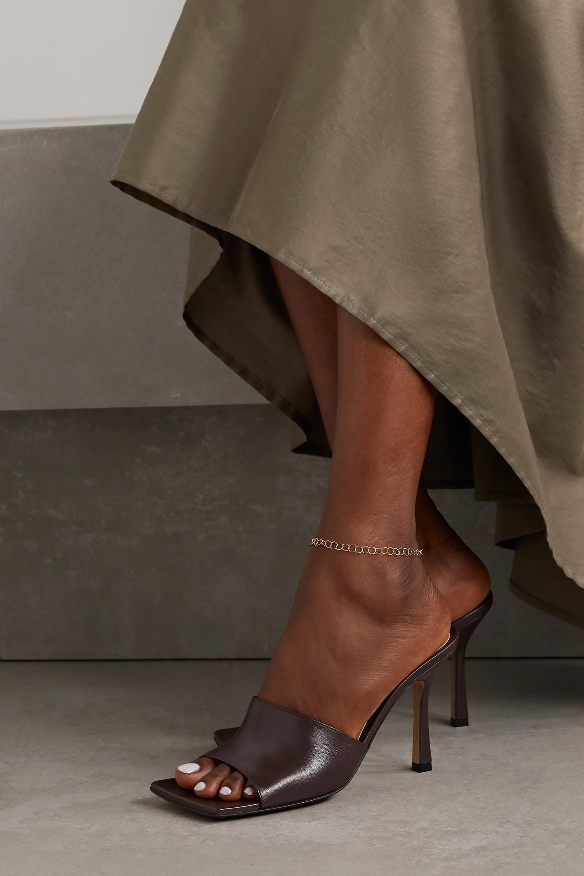 Melissa Joy Manning 14-karat recycled gold anklet